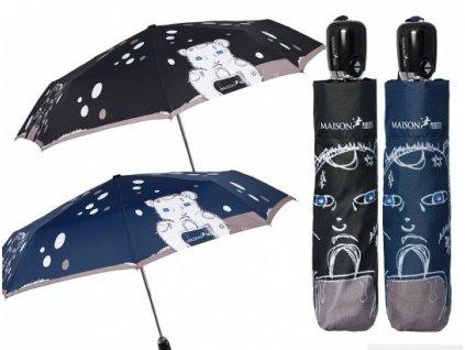 Plně automatický skládací deštník Medvídek Perletti-Maison