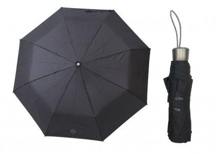Skládací deštník manuální VERSACE černý