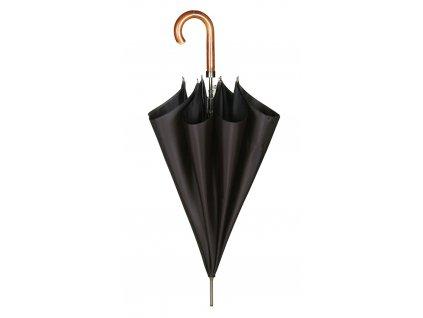 Luxusní pánský holový deštník Guy Laroche černý