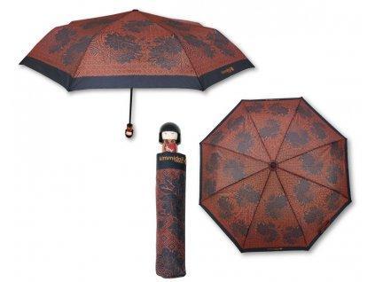 Luxusní skládací deštník s rukojetí v podobě panenky KIMMIDOLL 5