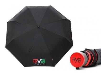 Skládací deštník manuální VERSACE dvoubarevný