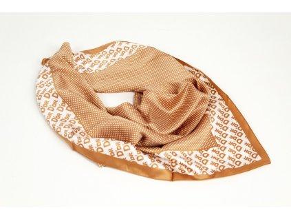 Dámský šátek 90x90 polyester Italy 1146