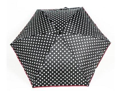 Dámský skládací deštník mini ČB Leopardí