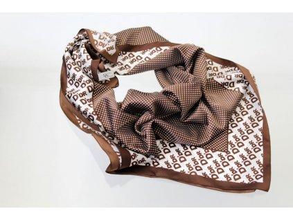 Dámský šátek 90x90 polyester Italy 1122