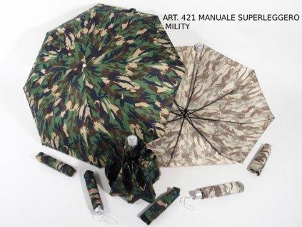 Skládací deštník maskáčový vzor