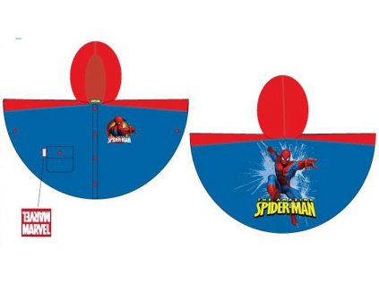 Dětská pláštěnka Spiderman ,Chanos vel.92-104