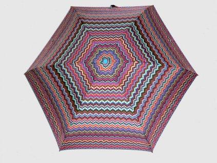 Dámský skládací deštník mini Etno