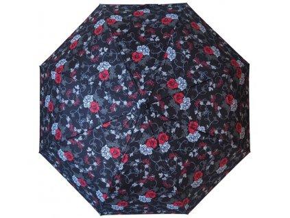 Plně automatický skládací deštník Růže.