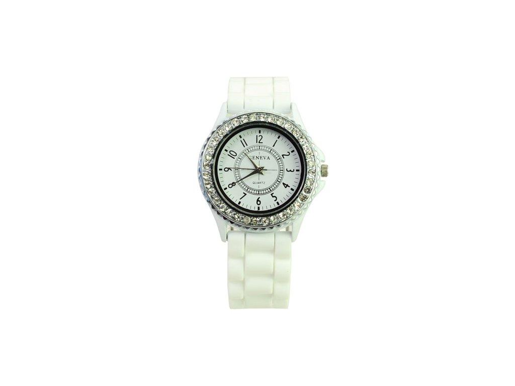 Silikonové hodinky Geneva - Simonés 448f184431