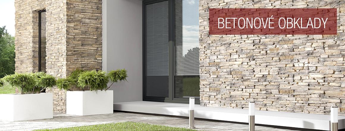 Betonové obklady - dokonalá imitace přírodního kamene