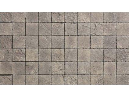 Kamenný obklad IMPERIA 1 - grey - 10 x 10 cm *