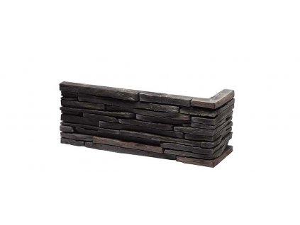 Sádrový roh VENEZIA 4 - graphite