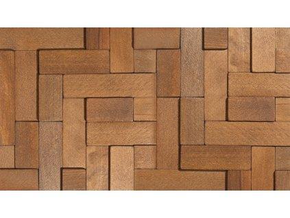 Dřevěný obklad CUBE 2