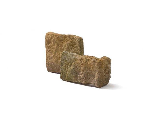 Kamenný roh CALABRIA 1 - mocca