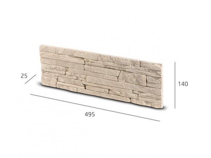 Obkladový kámen LARISA krémová