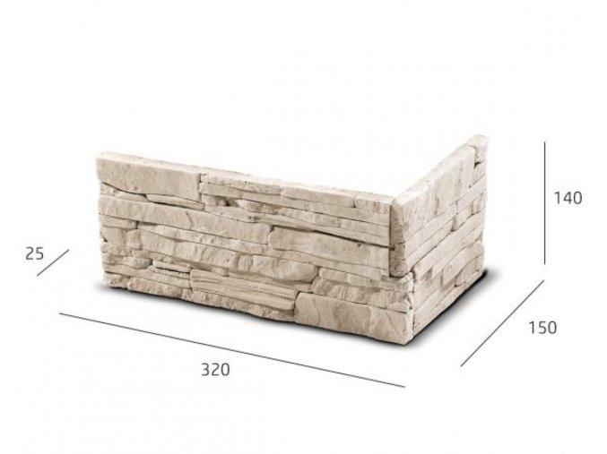 ROH Obkladový kámen LARISA krémová
