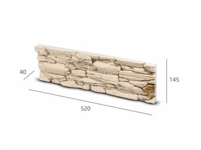 Obkladový kámen ROSARIO krémovo béžová