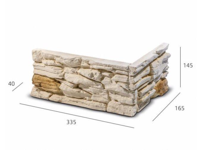 ROH Obkladový kámen ROSARIO krémovo béžová