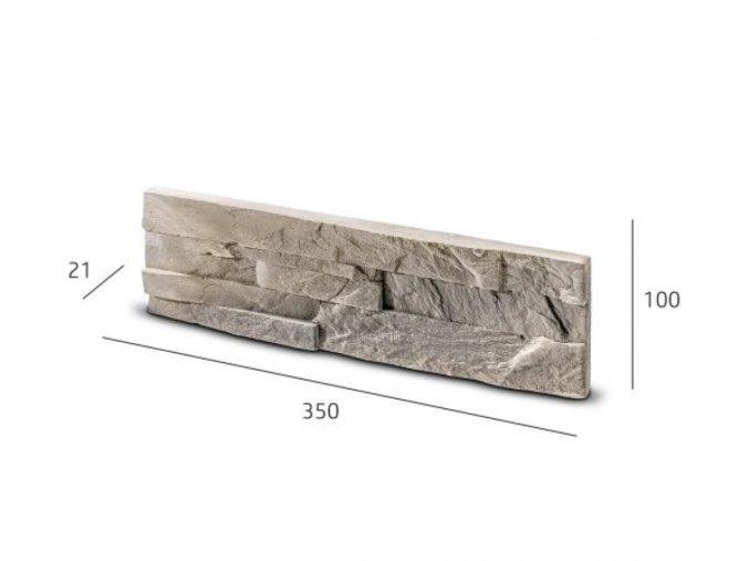 Obkladový kámen VIKTORIA krémová