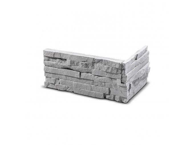 Roh pro obkladový kámen Steinblau TEPIC - šedá