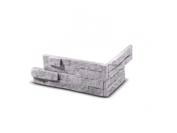 Roh pro obkladový kámen Steinblau VERTIGO - šedá