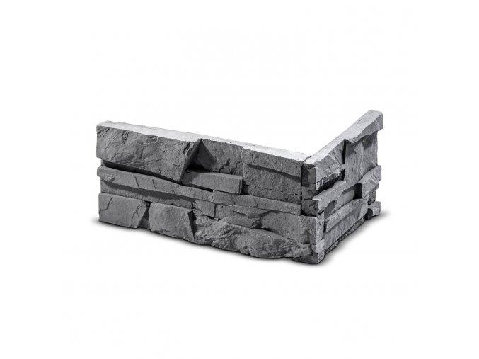 ROH Obkladový kámen SORRENTO grafit 320x155x147x35 mm Beton balení 0,87bm