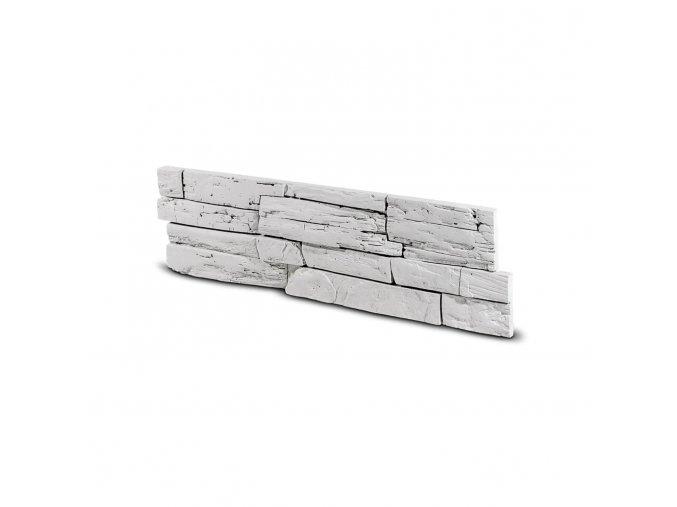 Kamenný obklad FASAD bílý 530x145x25 mm Beton balení 0,46m2