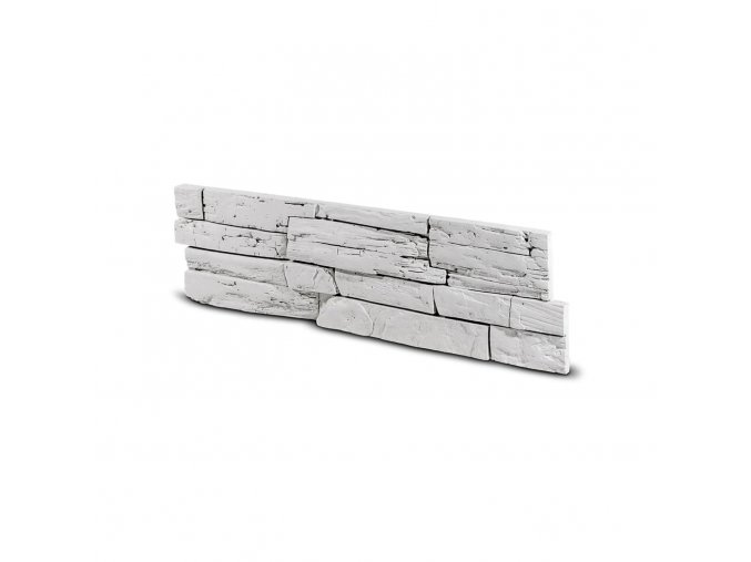 Kamenný obklad Steinblau FASAD - bílá