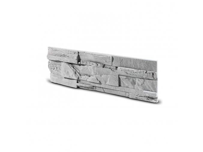 Kamenný obklad ASTRA šedá 495x145x35 mm Beton balení 0,43m2