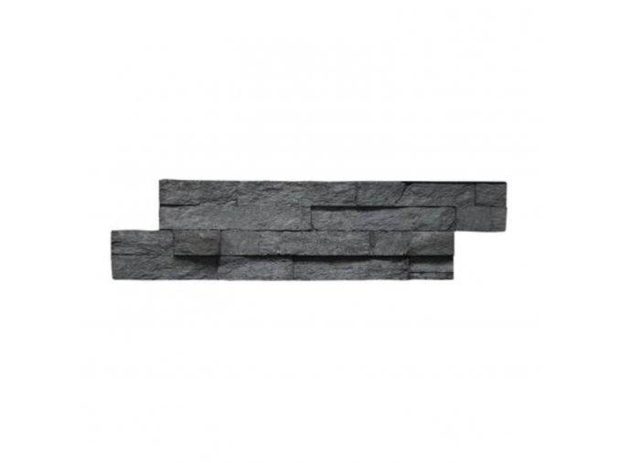 Obkladový kámen VERTIGO Grafit 450x100x25 mm Beton balení 0,4m2