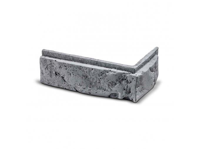 ROH Cihlový obklad se spárou MODENA šedá 244x104x75x30 mm Beton balení 0,6bm