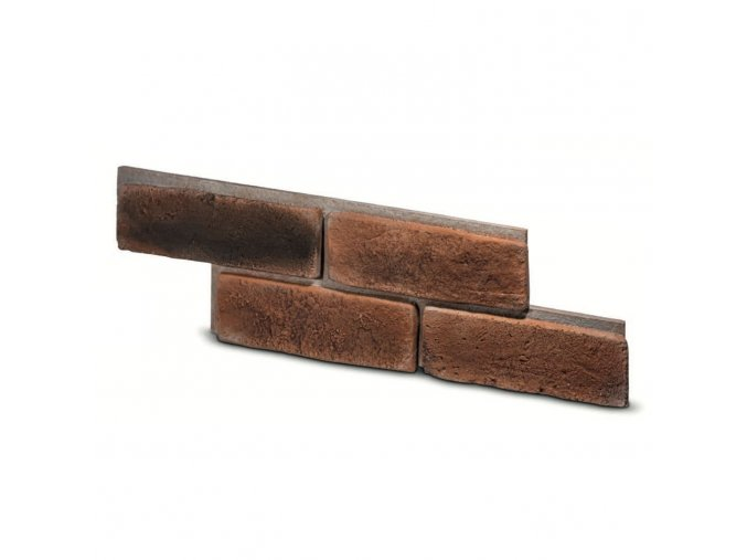 Cihlový obklad se spárou MAYO 1 červená 525/150/16mm beton bal. 0,5m2