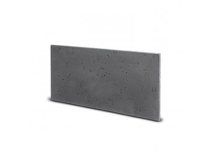 Fasádní obkladový beton šedá (s96)350x700 mm balení 0,245m2