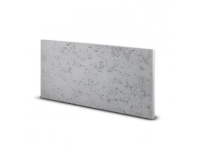 Fasádní obkladový beton světle šedý (s95) 350x700 mm balení 0,245m2