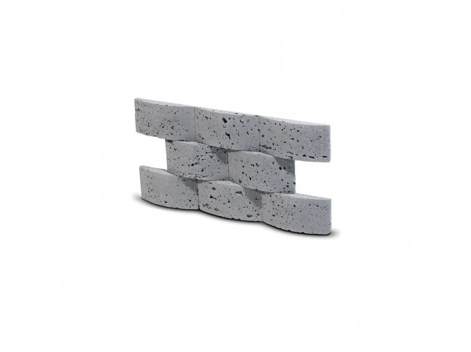 Steinblau Kamenný obklad LIAN šedá 502/150/25mm beton bal. 0,45m2
