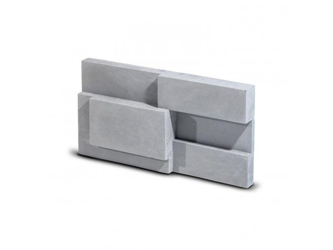 Steinblau Kamenný obklad SQUARE šedá 300/150/40mm beton bal. 0,27m2