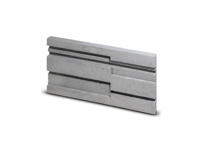 Steinblau Kamenný obklad STRIP šedá 300/150/25mm beton bal. 0,36m2