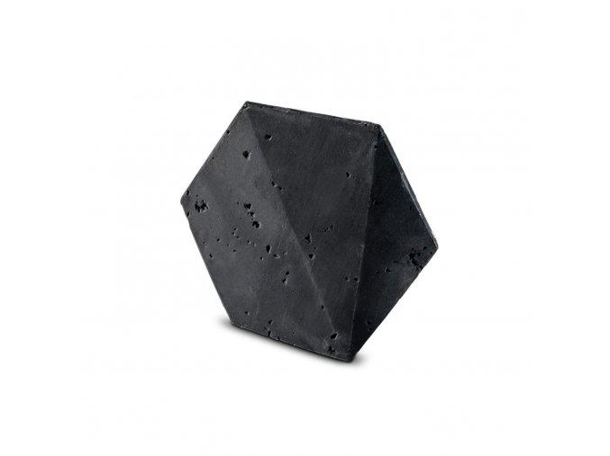 Kamenný obklad Steinblau PLAYA HEXAGON 3D - černá