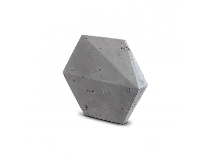 Steinblau Kamenný obklad PLAYA HEXAGON 3D šedá 205/375/175/20mm beton bal. 0,31m2
