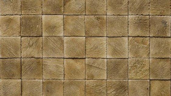 Kamenný obklad IMPERIA 3 - mocca - 10 x 10 cm *