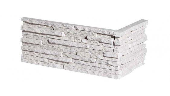 Kamenný roh PALERMO 1 - white