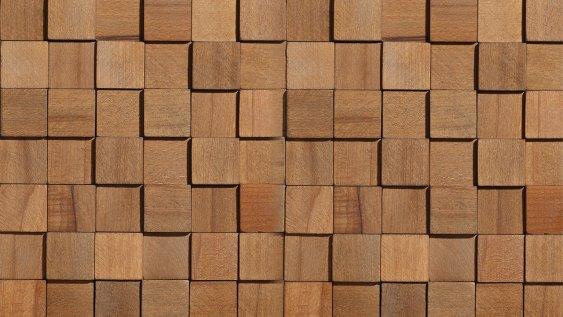 Dřevěný obklad CUBE 1
