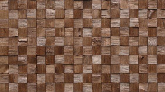Dřevěný obklad QUADRO MINI 2