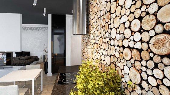 Dřevěný obklad NATURE PURE