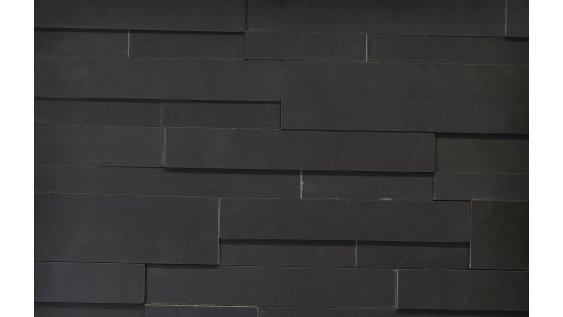Aksent 3D - Leštěný čedič Ebony basalt
