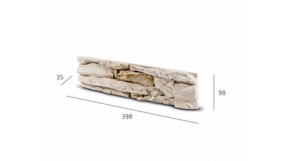 Obkladový kámen DAFINA béžovo hnědá