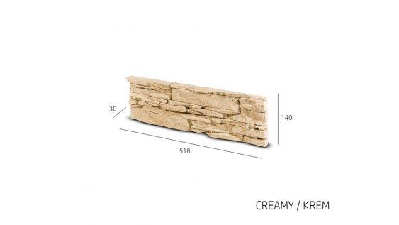 Obkladový kámen TODOS krémová