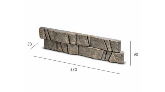 Obkladový kámen PADWA šedá