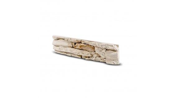Obkladový kámen DAFINA béžovo hnědá 398x98x35 mm Beton balení 0,46m2