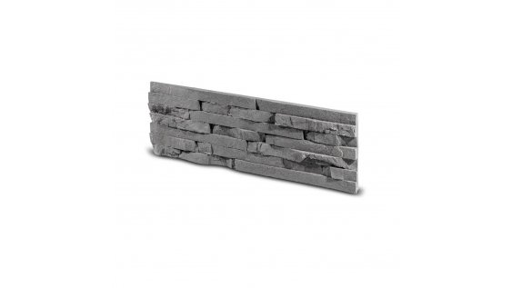 Obkladový kámen TEPIC grafit 495x145x25 mm Sádra balení 0,43m2